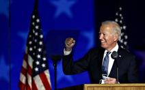 Ông Biden: 'Không nghi ngờ gì nữa, tôi sẽ được công bố chiến thắng'
