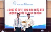 PGS.TS Nguyễn Hoàng Bắc làm quyền hiệu trưởng ĐH Y dược TP.HCM
