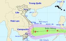 Áp thấp nhiệt đới hướng vào Biển Đông, có thể thành bão mạnh cấp 8 vào ngày 9-11