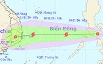 Ngày mai 9-11, tâm bão có thể cách Song Tử Tây 300km, gió giật cấp 10