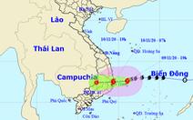 7h sáng bão đổ vào biển Bình Định - Ninh Thuận, gió giật cấp 11