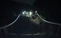 Quốc lộ 26 nối Khánh Hòa - Đắk Lắk sụt sâu 10m, giao thông tê liệt