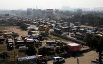 Nông dân Ấn Độ đổ về thủ đô phản đối chính sách nông nghiệp mới