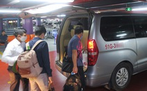 Tài xế 'xe công nghệ' ở sân bay Tân Sơn Nhất nêu 3 giải pháp