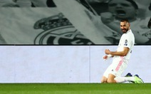 Benzema lập cú đúp đưa Real vào vòng 16 đội