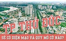 Thành phố Thủ Đức có quy mô cỡ nào?