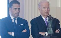 Con trai ông Biden thừa nhận bị điều tra các giao dịch tài chính ở Trung Quốc