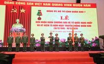 Lực lượng vũ trang Quân khu 7 nhận Huân chương Bảo vệ Tổ quốc hạng nhất