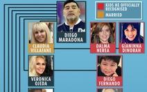Cuộc chiến giành tài sản của Maradona 'giống như một kỳ World Cup'