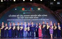 SASCO tiếp tục là doanh nghiệp dẫn đầu phát triển bền vững Việt Nam năm 2020