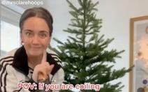 Video hướng dẫn trang trí cây thông tưởng 'không có gì' đạt hơn 2 triệu lượt xem