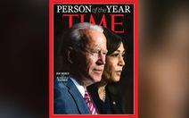 Ông Biden và bà Harris là Nhân vật năm 2020 của tạp chí Time