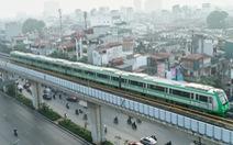 Hôm nay, chạy thử toàn hệ thống đường sắt Cát Linh - Hà Đông