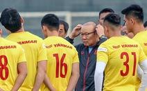 Đội tuyển Việt Nam: Chưa yên tâm với hàng công
