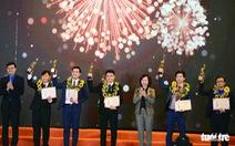 10 thanh niên làm khoa học xuất sắc nhận giải thưởng 'Quả cầu vàng' năm 2020