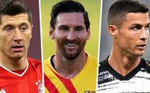 Điểm tin sáng 12-12: Ronaldo, Messi, Lewandowski tranh Giải FIFA The Best 2020