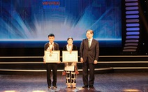 2 học sinh Bát Xát, Lào Cai nhận giải đặc biệt cuộc thi sáng tạo thanh thiếu nhi
