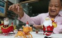 Ngắm những linh vật Giáng sinh làm từ vỏ trứng của thầy giáo già