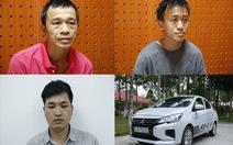 Công an 3 tỉnh phối hợp bắt nhóm lái ôtô trộm xe máy liên tỉnh