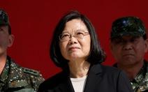 Lãnh đạo Đài Loan Thái Anh Văn tự tin có thể bán vũ khí cho phương Tây
