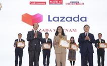 Lazada lọt top 10 sản phẩm - dịch vụ được tin dùng nhất năm 2020