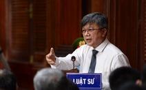 Ông Đinh La Thăng: 'Tôi chỉ chịu trách nhiệm hành chính!'