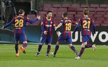 Thắng ngược 'hiện tượng' Sociedad, Barca trở lại cuộc đua vô địch