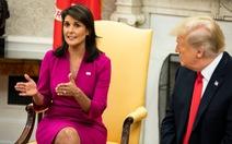 3 di sản đối ngoại của ông Trump mà bà Nikki Haley khuyên ông Biden giữ