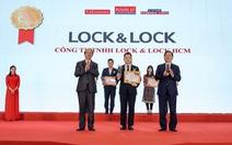 LOCK&LOCK vinh danh top 10 sản phẩm - dịch vụ tin dùng Việt Nam 2020