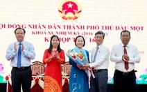 Bà Nguyễn Thu Cúc làm chủ tịch UBND TP Thủ Dầu Một