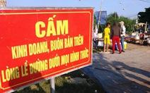 Bắt nhóm thu tiền bảo kê hàng rong trước bệnh viện lớn nhất Nghệ An