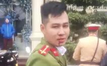 Khống chế thanh niên 'tung chưởng' chảy máu mũi trung úy công an