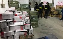 Phá đường dây buôn lậu lớn tại Móng Cái, thu giữ hơn 500 tấn hàng