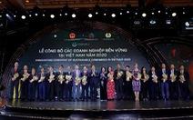 Vinamilk dẫn đầu top các doanh nghiệp bền vững Việt Nam năm 2020