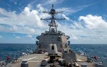 Tàu chiến Mỹ qua eo biển Đài Loan, quân đội Trung Quốc bám đuôi