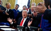 Ông Trump tự hào gọi việc thành lập Lực lượng Vũ trụ là 'thành tựu vĩ đại'