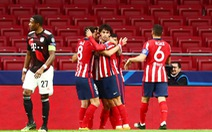 Bayern ngáng chân Atletico Madrid giành vé sớm vào vòng knock-out