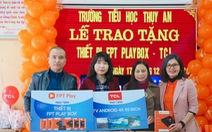Hoàn tất trao tặng 100 Rạp Phim Trường Em do FPT Play và TCL tổ chức