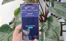 Samsung Note20 Ultra 5G đầu tiên của Việt Nam đã chạy trên mạng 5G Viettel.
