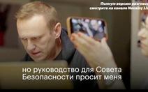 Nga bác tin đặc vụ FSB thú nhận tẩm độc lên quần lót ông Navalny