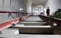 Nhà ga ngầm Ba Son tuyến metro số 1 đã làm xong