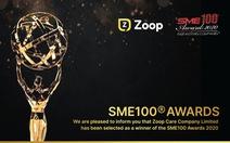 Zoop Care vinh dự nhận giải thưởng SME100®