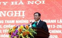 Bí thư Hà Nội Vương Đình Huệ: 'Minh bạch trong quản lý để không thể tham nhũng'