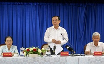 Bí thư Nguyễn Văn Nên: 'TP Thủ Đức và vấn đề Thủ Thiêm, không nặng - nhẹ bên nào'