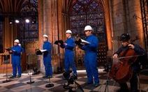 Chưa sửa xong, nhà thờ Đức Bà Paris tổ chức hòa nhạc Giáng sinh đặc biệt