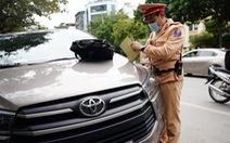 Hơn 500 trường hợp bị lập biên bản phạt nguội, 49 tài xế đã nộp phạt