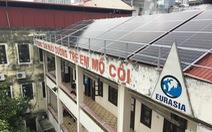 Điện năng lượng mặt trời cho trẻ em mồ côi