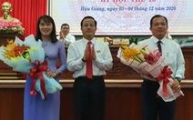 Hậu Giang có thêm 2 phó chủ tịch tỉnh cùng 44 tuổi