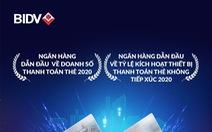 Thanh toán thẻ BIDV được VISA trao hai giải thưởng