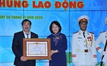 Trường ĐH Y khoa Phạm Ngọc Thạch nhận danh hiệu anh hùng lao động